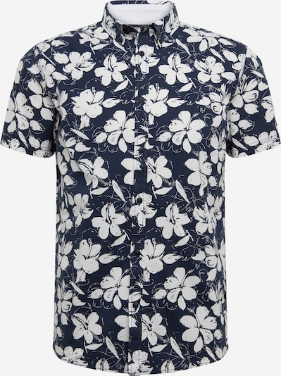 !Solid Hemd 'Bill SS BD Flower' in dunkelblau, Produktansicht