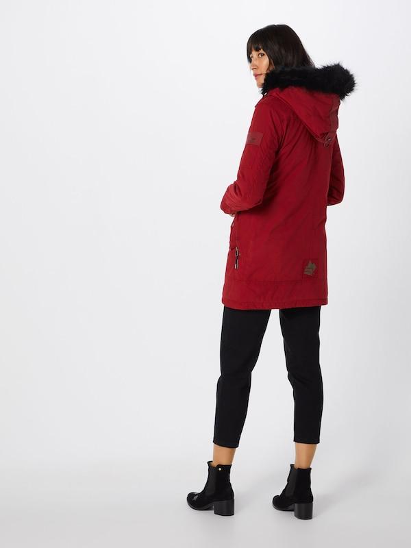 Khujo En Manteau 'babette' Feu D'hiver Rouge L3Rj54A