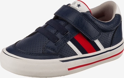 Sprox Sneakers Low in blau / rot / weiß, Produktansicht