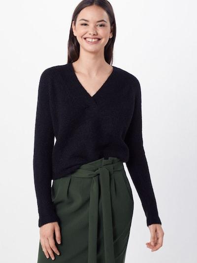 ICHI Pullover 'AMARA' in schwarz, Modelansicht