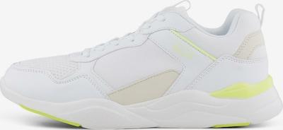 TOM TAILOR DENIM Shoes Sneaker mit Farbakzent in weiß, Produktansicht