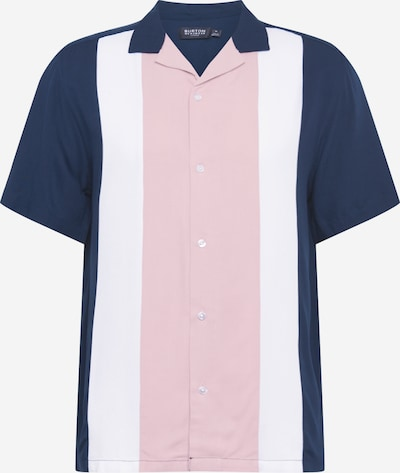 BURTON MENSWEAR LONDON Hemd in navy / rosé, Produktansicht
