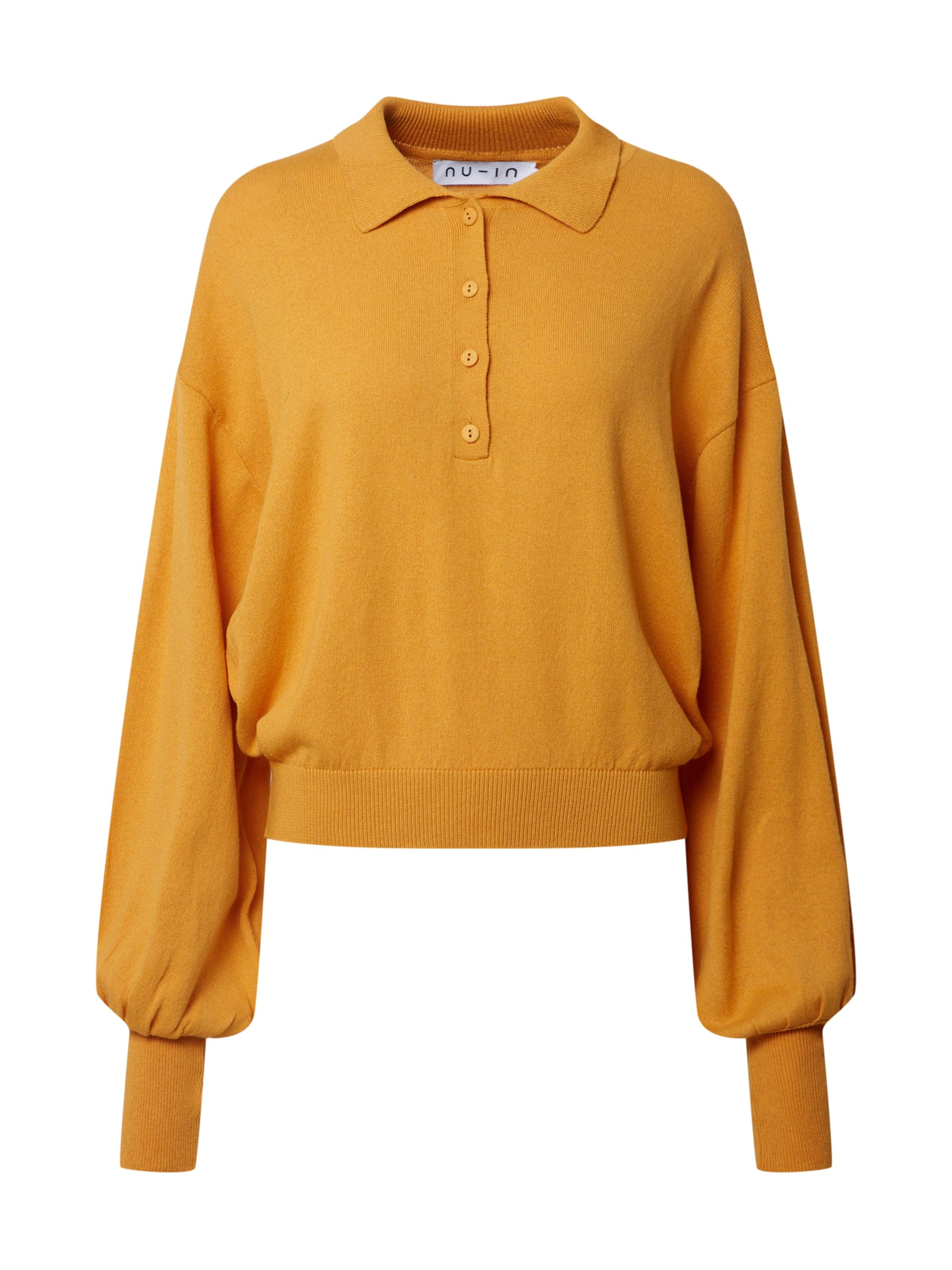 NU-IN Sweatshirt i gul