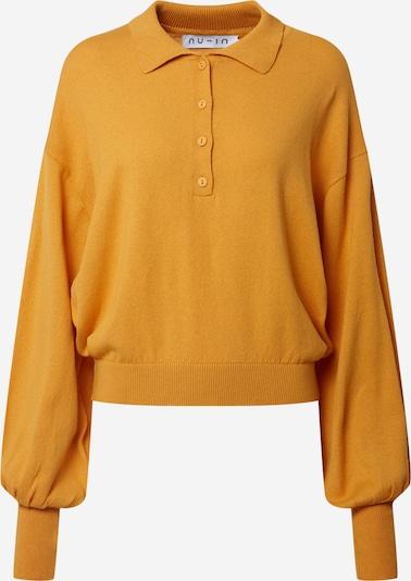 NU-IN Sweatshirt in de kleur Geel, Productweergave
