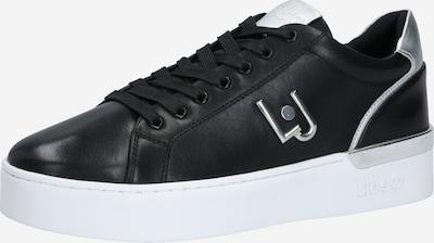 Liu Jo Sneaker 'SILVIA 01' in schwarz / silber, Produktansicht