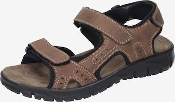 MANITU Sandale in Braun