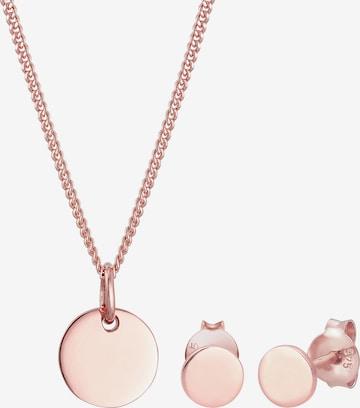 Parure de bijoux 'Kreis' ELLI en or
