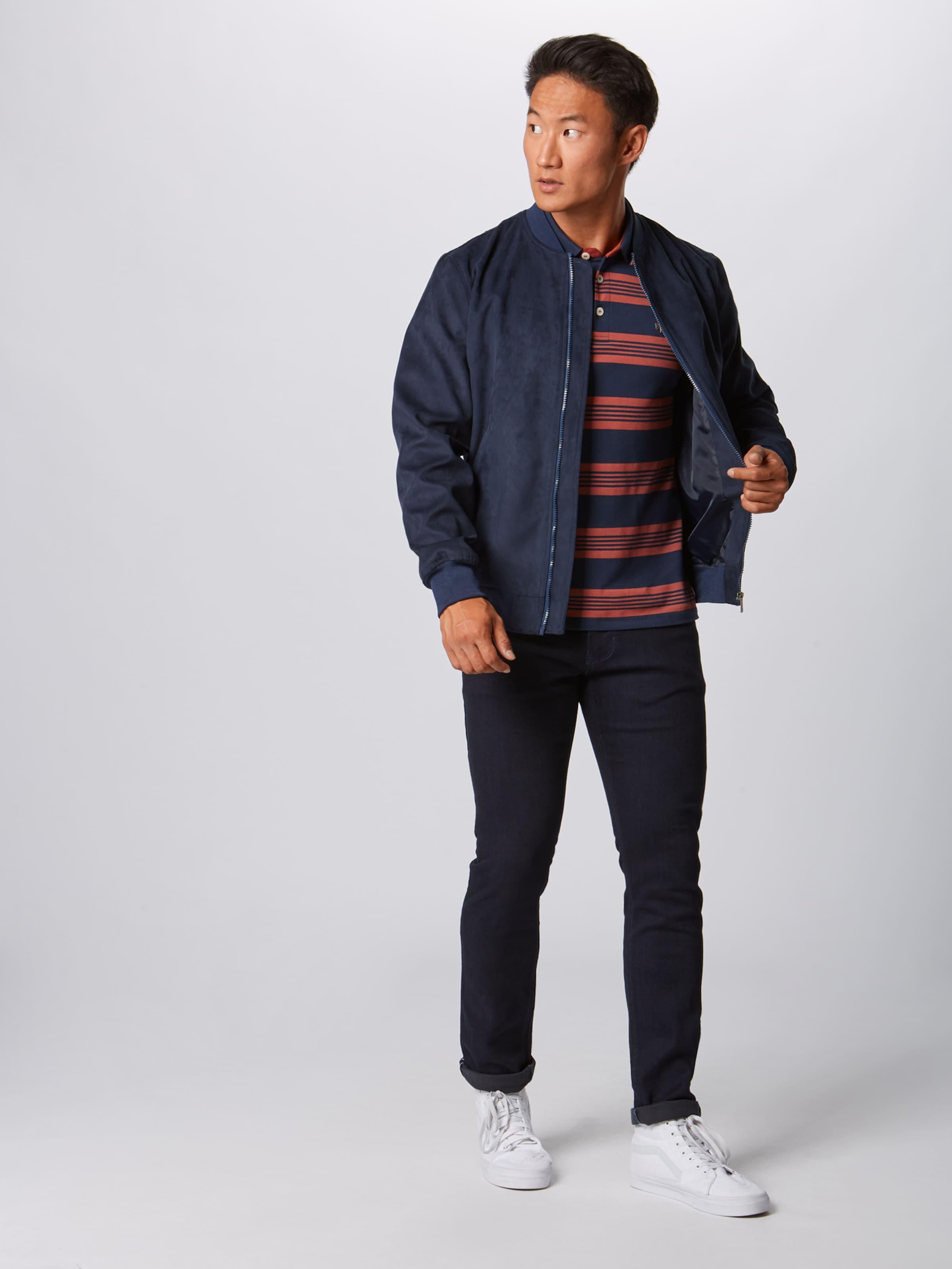 Jackamp; Jones Poloshirt In Jackamp; Poloshirt Jones NavyRot N80mvnw