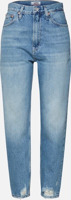 Tommy Tapered Jeans Bleu Jean Rise Sydnl' En Denim Tj 'high 2004 BdroCxe