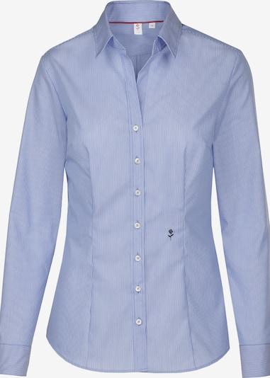 SEIDENSTICKER Bluse 'Schwarze Rose' in rauchblau, Produktansicht
