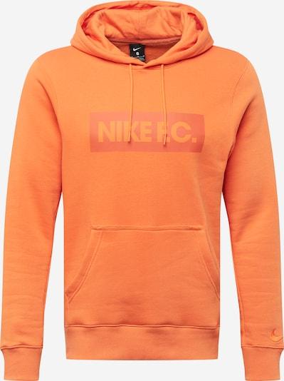 NIKE Sportsweatshirt in orange, Produktansicht