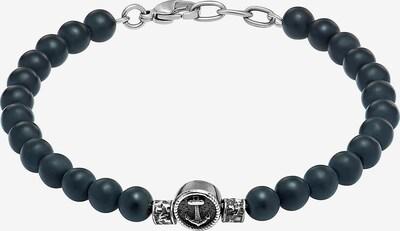 C-Collection Armband in schwarz / silber, Produktansicht