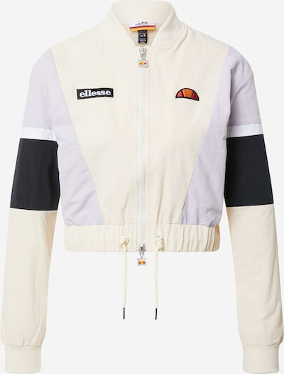 ELLESSE Jacke 'Shiaro' in beige / flieder / schwarz / weiß, Produktansicht
