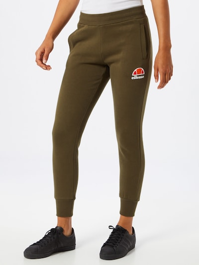 ELLESSE Jogginghose 'Queenstown' in oliv, Modelansicht