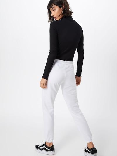GAP Kalhoty - bílá: Pohled zezadu