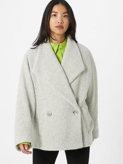 DRYKORN Manteau mi-saison 'KEIGHLEY' en gris, Vue avec modèle