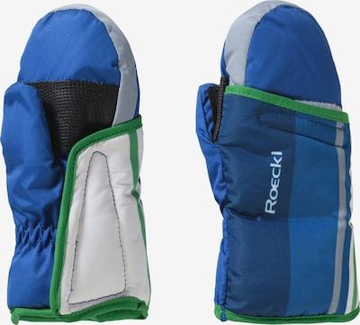 Roeckl SPORTS Fausthandschuh 'FOUR' in blau / mischfarben, Produktansicht