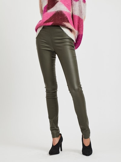 OBJECT Leggings in khaki, Modelansicht