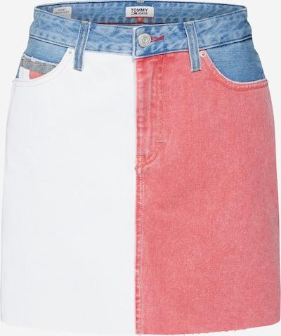 Fustă ' Short Denim ' Tommy Jeans pe denim albastru / roșu / denim alb, Vizualizare produs