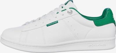 JACK & JONES Sneaker in dunkelgrün / weiß, Produktansicht