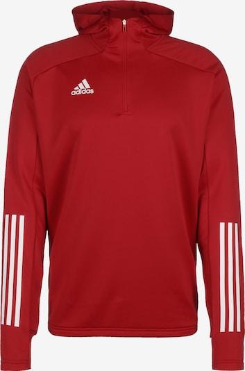 ADIDAS PERFORMANCE Sweatshirt 'Condivo 20' in rot / weiß, Produktansicht