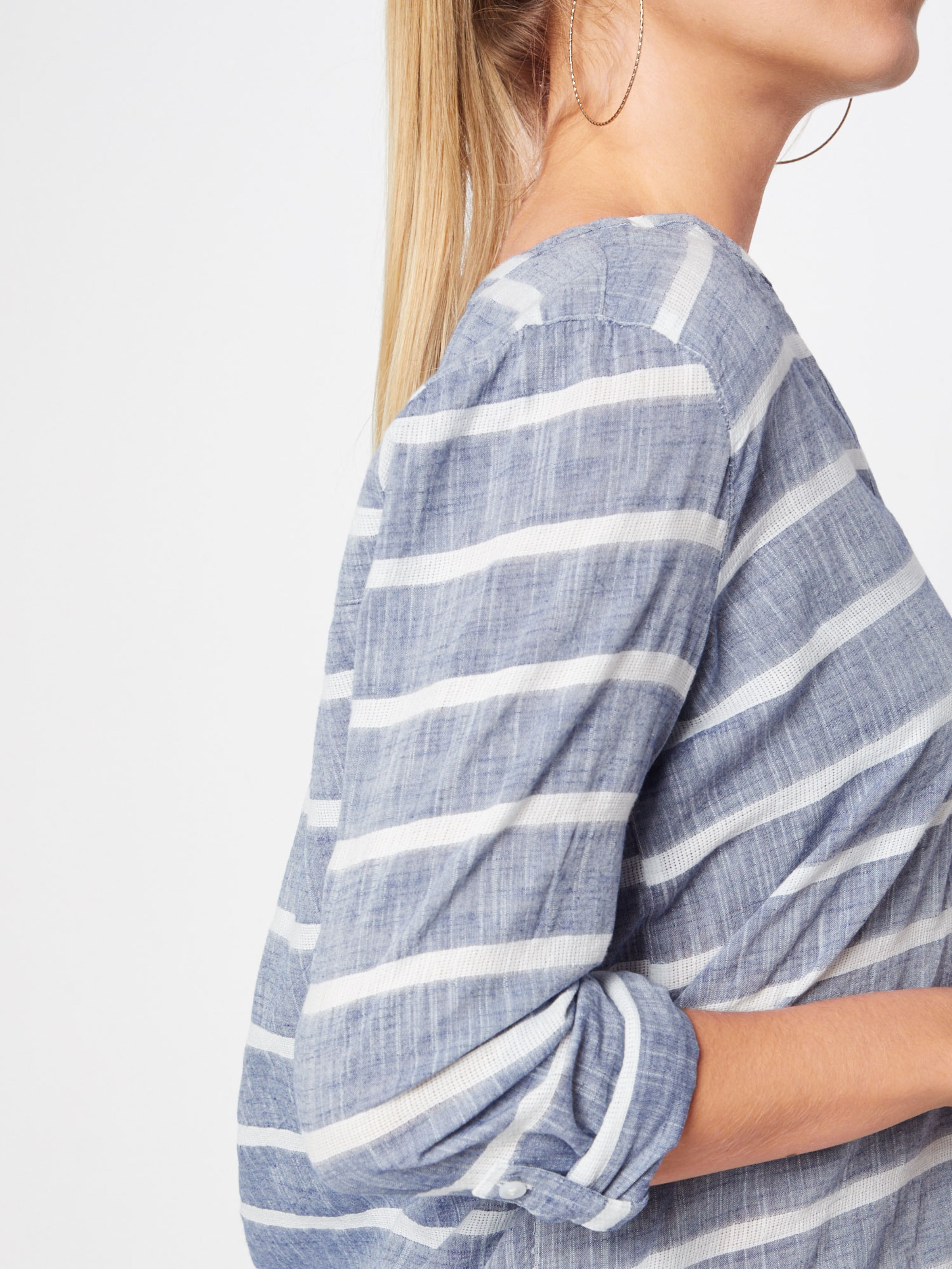 NavyWeiß In Tailor Bluse Tom Denim OZPkuXi