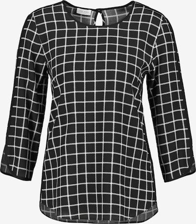 GERRY WEBER Blusenshirt in schwarz / weiß, Produktansicht