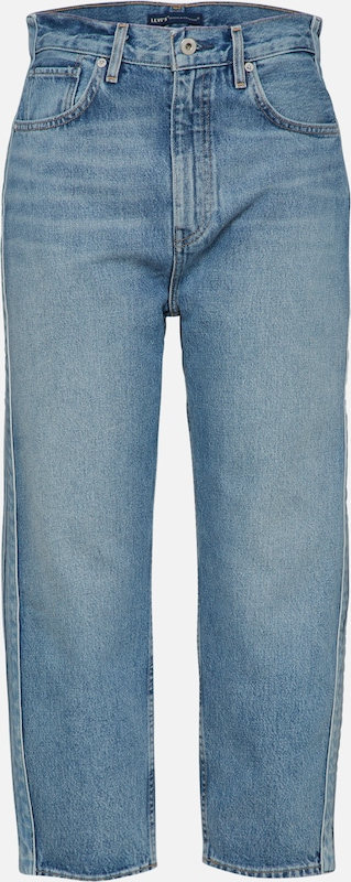 Levi's Made & Crafted Jeans in de kleur Blauw denim, Productweergave