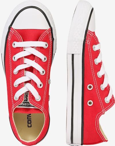 CONVERSE Sneaker 'ALL STAR' in rot: Seitenansicht