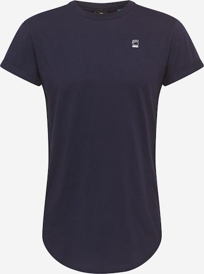 G-Star RAW Shirt 'Ductsoon' in dunkelblau / weiß, Produktansicht