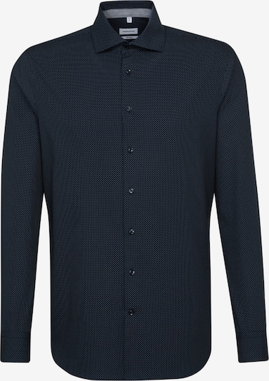 SEIDENSTICKER Overhemd 'Tailored' in de kleur Donkerblauw / Wit: Vooraanzicht