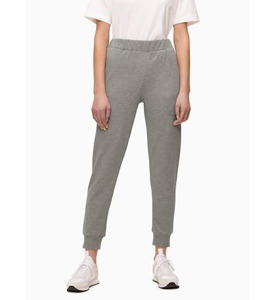 Calvin Klein Sweathose in graumeliert, Modelansicht