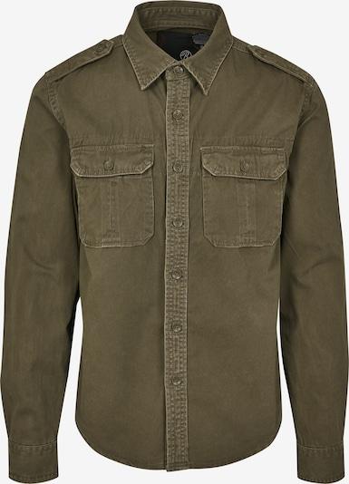 Brandit Hemd in oliv, Produktansicht