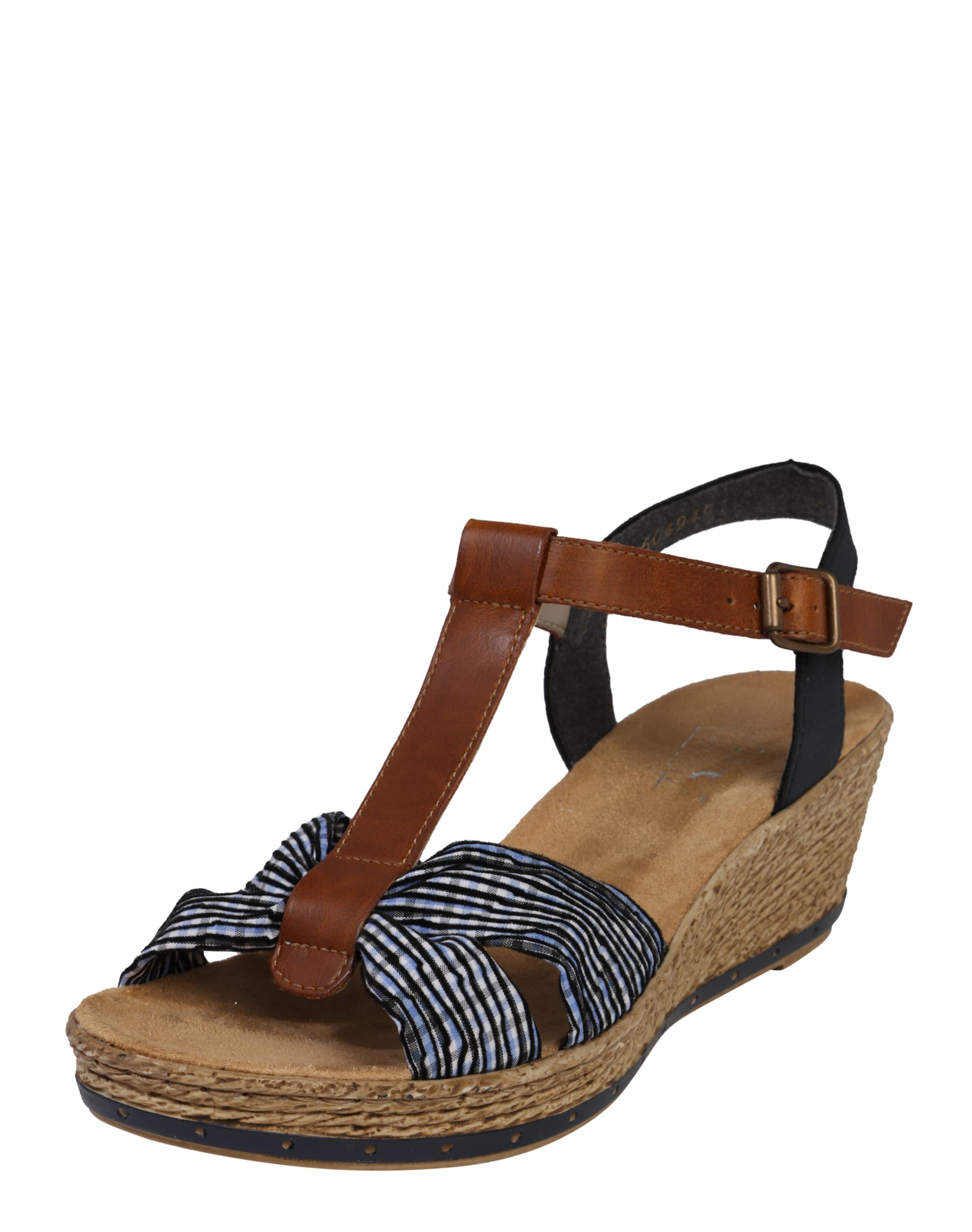 Haltbare Mode billige Schuhe RIEKER | Sandale im Retro-Look Schuhe Gut getragene Schuhe