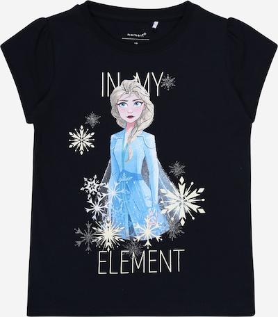 NAME IT T-Shirt 'Frozen' en bleu / bleu clair / jaune, Vue avec produit
