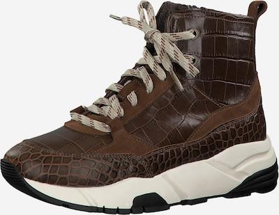 TAMARIS Sneaker in beige / schoko, Produktansicht
