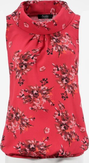 Aniston SELECTED Bluse in rosa / rot / schwarz, Produktansicht