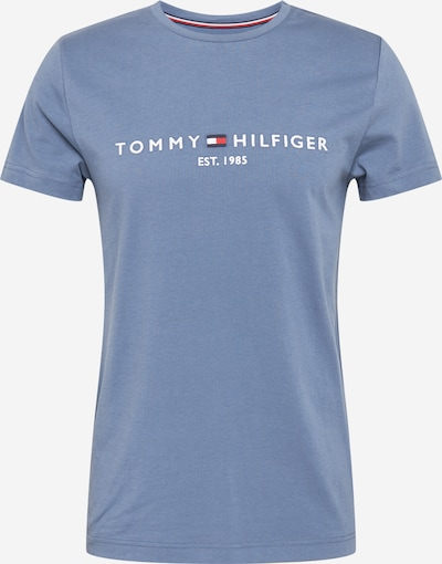 TOMMY HILFIGER Shirt in de kleur Blauw / Rood / Wit, Productweergave