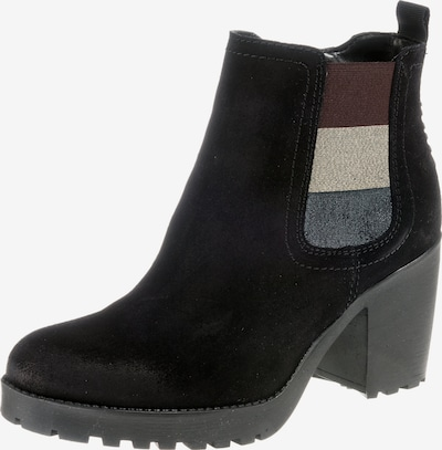 Tommy Jeans Boot 'Essential' in taubenblau / schwarz / silber, Produktansicht