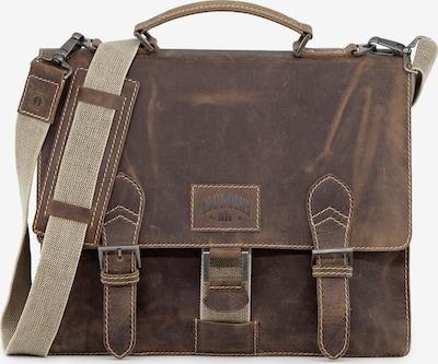 KLONDIKE 1896 Aktentas 'Liam' in de kleur Bruin, Productweergave