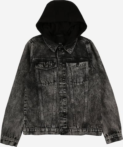 River Island Jacke in black denim, Produktansicht