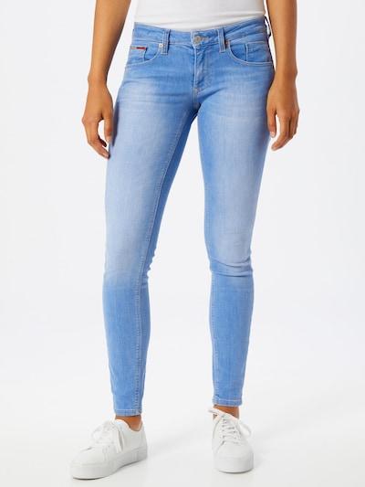 Tommy Jeans Jeans 'Scarlet' in blue denim: Frontalansicht