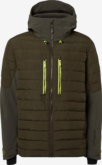 O'NEILL Snowboardjacke Igneous in gelb / dunkelgrün, Produktansicht