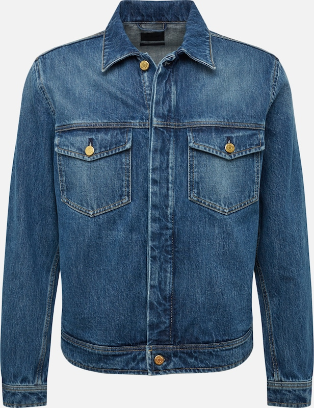 Filippa K Jeansjacke in blue denim, Produktansicht
