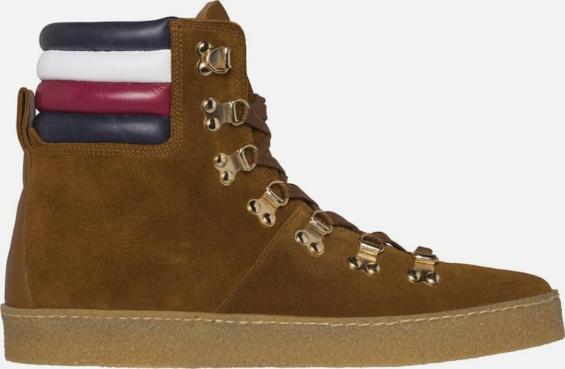 TOMMY HILFIGER Sneaker »CREPE OUTSOLE BOOT« HIKING HYBRID BOOT« OUTSOLE ed1d63