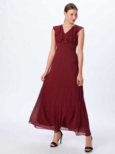 TFNC Společenské šaty 'BINA MAXI' - burgundská červeň, Model/ka