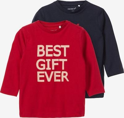 NAME IT T-Shirt in dunkelblau / rosa / rot, Produktansicht
