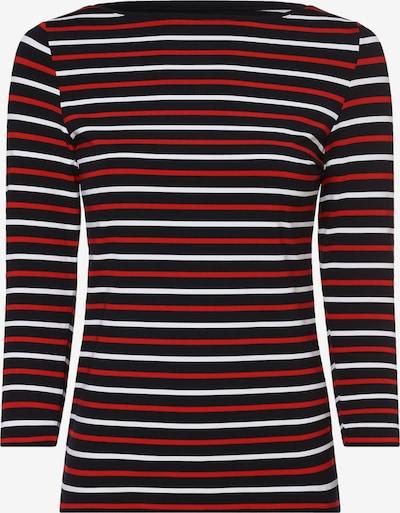 apriori Shirt in rot / schwarz / weiß, Produktansicht