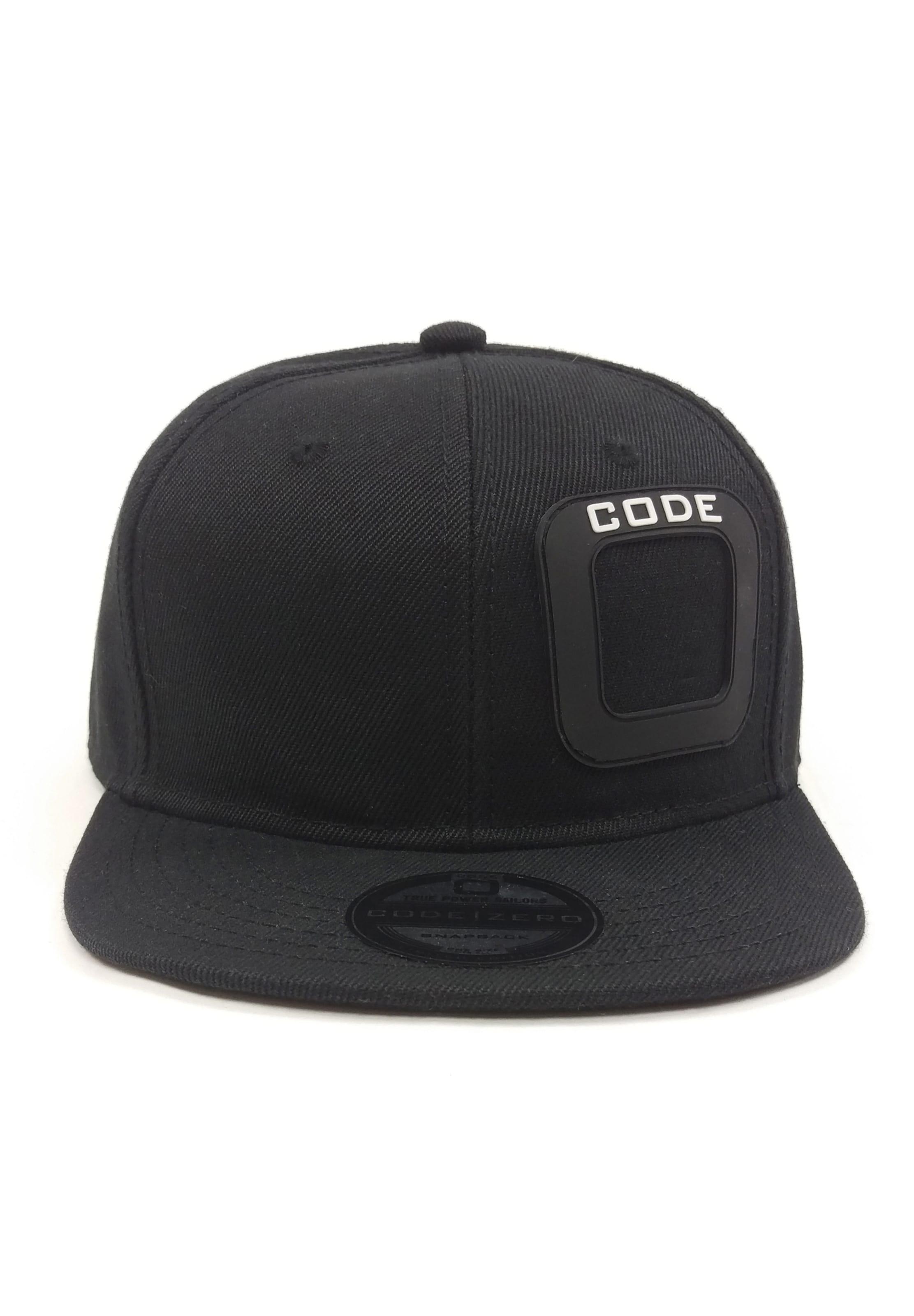 Cap Code Schwarz Snapback In zero wO0Nnvm8