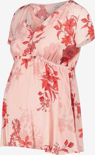 QUEEN MUM Bluse 'Portland' in pink / rot, Produktansicht